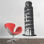 Leaning Tower of Pisa Wall Appliqué