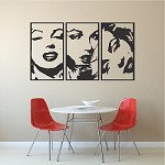 Marilyn Monroe Panel Wall Decals