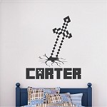 Custom Minecraft Name Room Decal