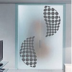 Halftone Sphere Wall Decal