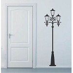 Street Lamp Wall Decal