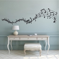 Music Melody Wall Decal