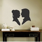 Leia and Han Solo Wall Decal
