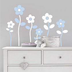 Flowers Wall Decal Stickers