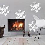Self Adhesive Removable Snowflakes