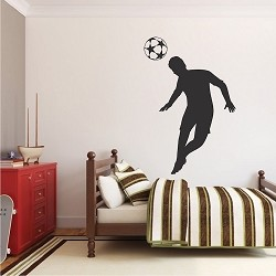 Soccer Player Wall Applique