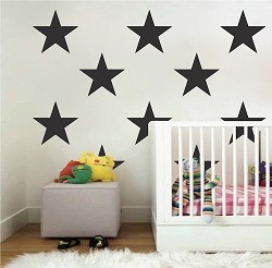Large Bedroom Star Stickers