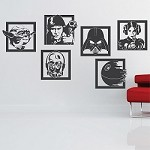 Star Wars Collection Wall Decals