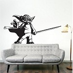 Yoda Wall Decal Sticker