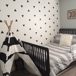 Triangles Wall Decal Accent