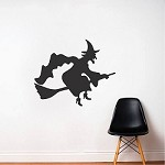 Witch Halloween Decal Sticker