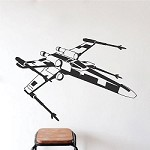 X Wing Star Wars Wall Decals