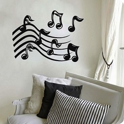 Music Dance Wall Decal