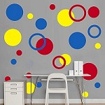 Rings & Dots Wall Decal