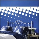 Halftone Border Wall Decal