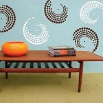 Curvy Designs Wall Decal