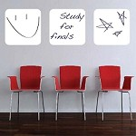 Three Dry Erase Wall Decals