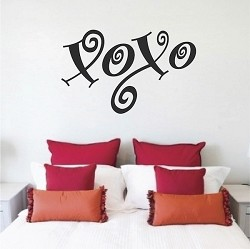 XOXO Wall Decal
