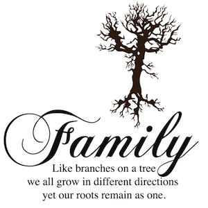 Family Like Branches Wall Decal Trendy Wall Designs