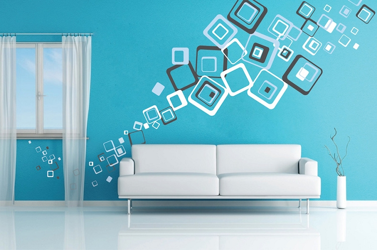 multiplex square wall decals trendy wall designsmultiplex square wall decals