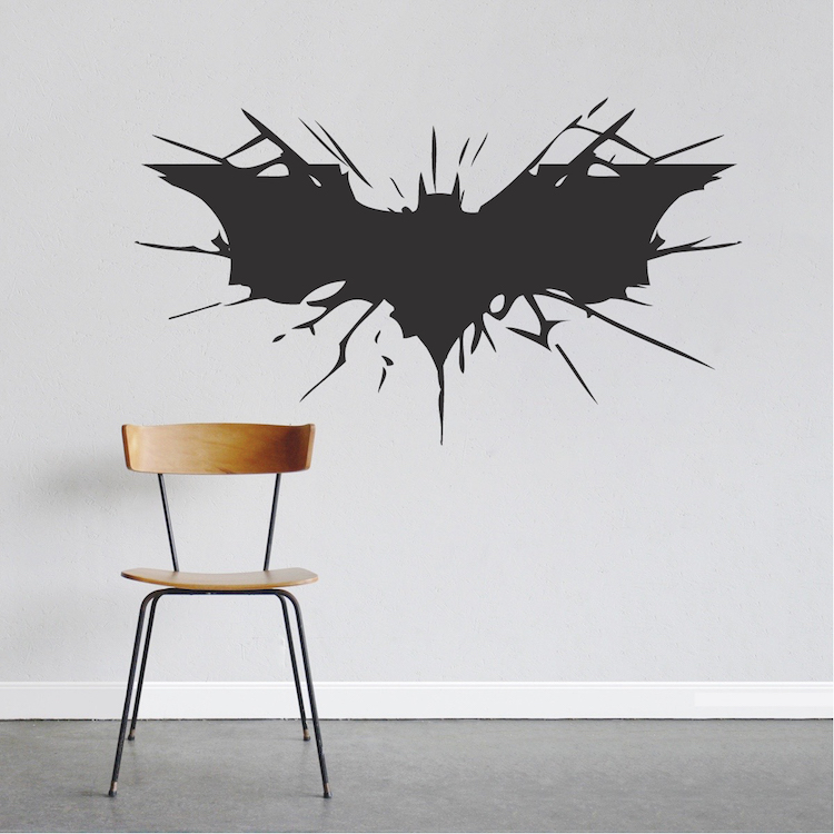 Bat Wall Decal Zoom