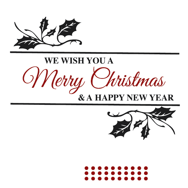 Christmas Tree Quotes: Merry Christmas Wall Quote
