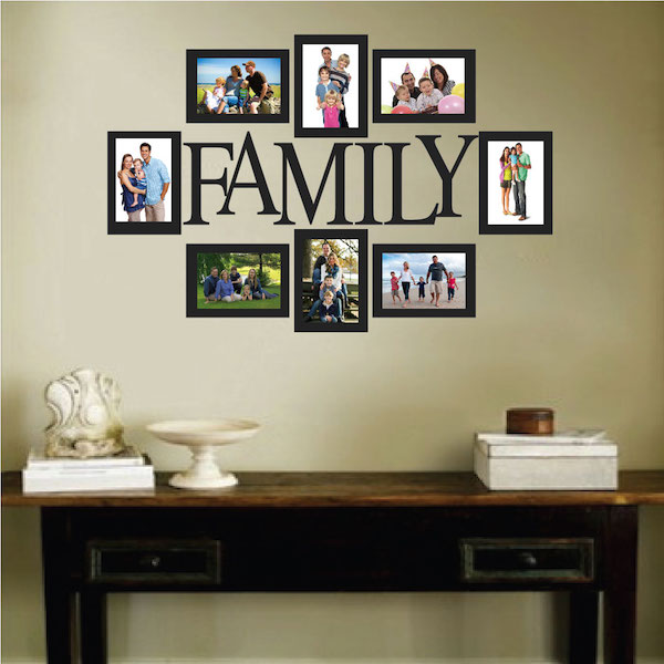 Wall Quote Family Picture Frame Zoom