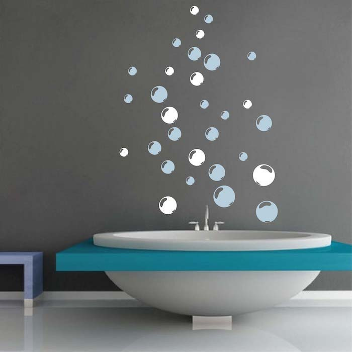 Bubbles Wall Designs Trendy Wall Designs