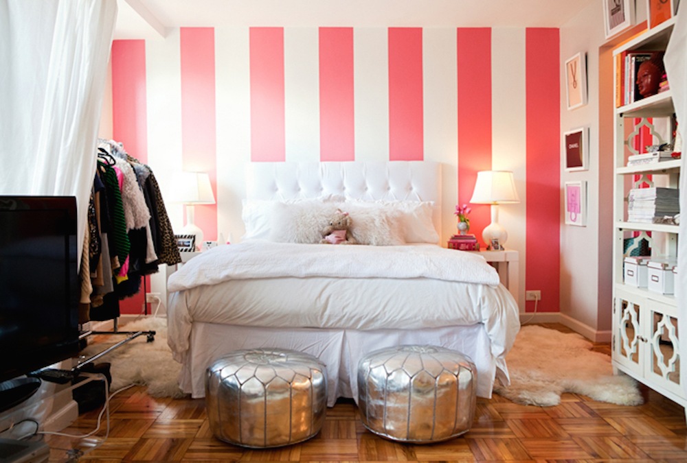 Stripes Wall Decals Stripes For Walls Trendy Wall Designs