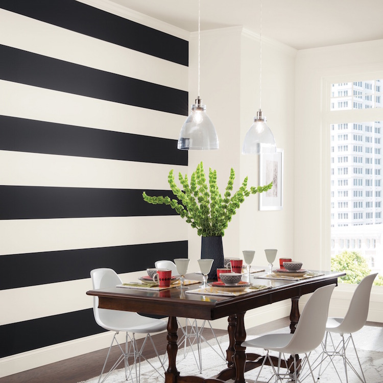 Simple Dining Room Color Ideas: Trendy Wall Designs