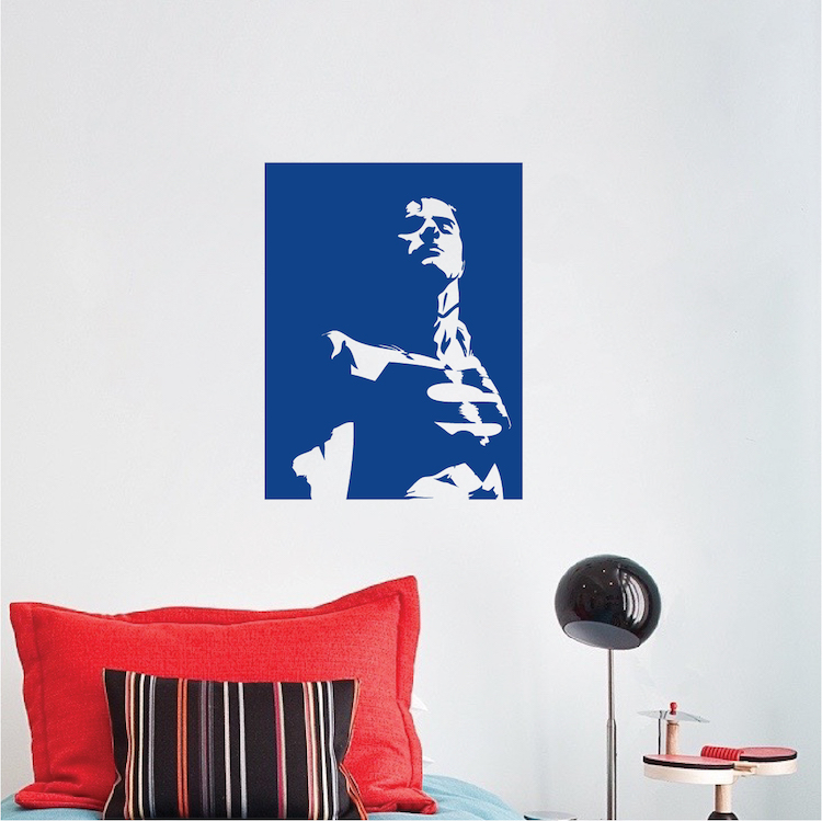 cool poster vinyl wall decal _ posters wallpaper sticker _ hero _