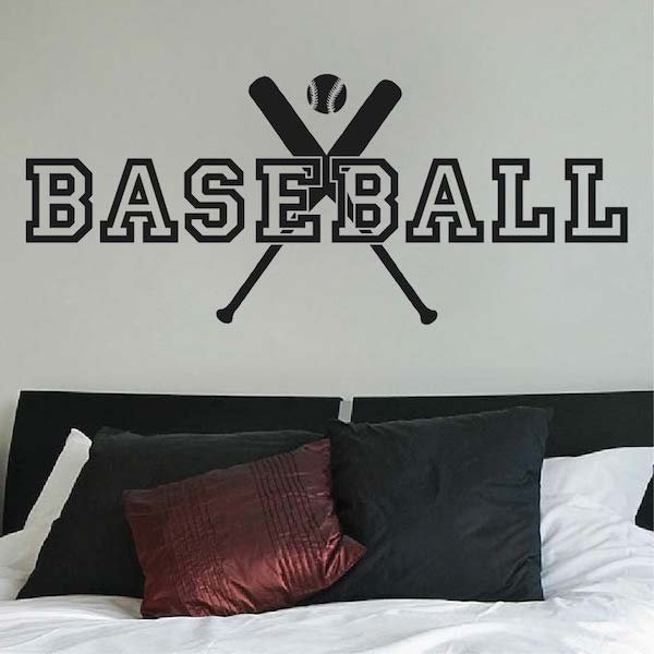 Baseball Wall Decal Trendy Wall Designs