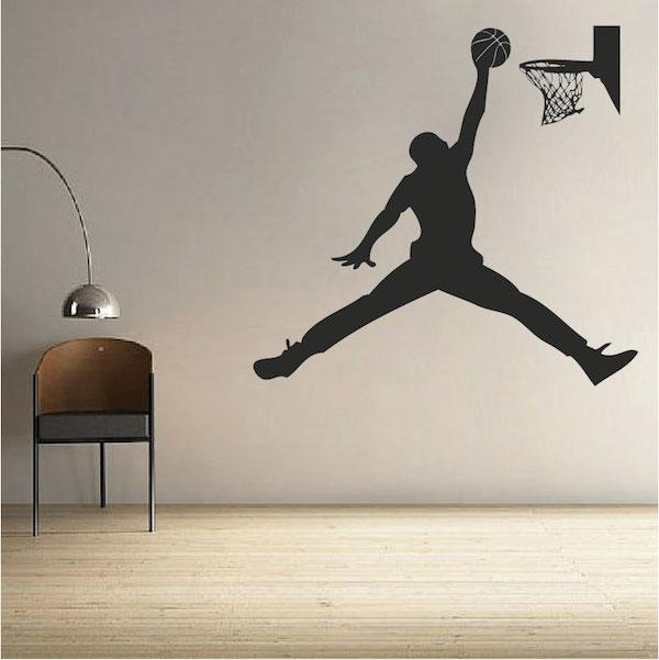 basketball jordan wall decal | trendy wall designs