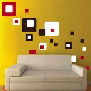 We Used 3 Diffe Colors Of Squares Sheets To Create This Look