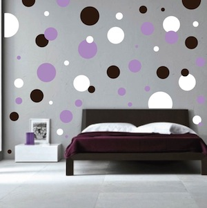 Polka Dots Wall Decals Trendy Wall Designs