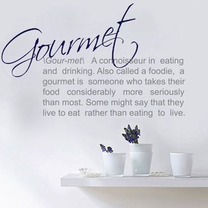 Gourmet Definition