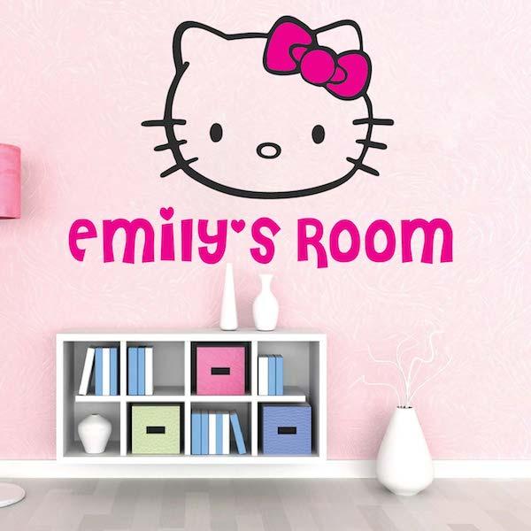 Hello Kitty Wall Decal. Zoom