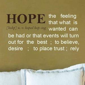 Hope Definition
