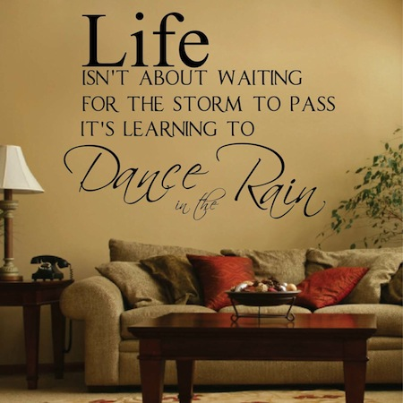 Dance In The Rain Wall Decal Trendy Wall Designs