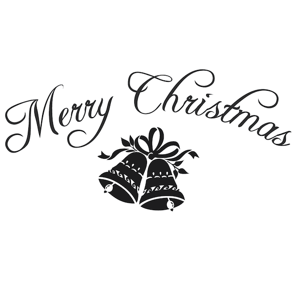 Merry Christmas Wall Lettering Trendy Wall Designs