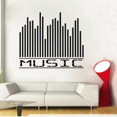 music equalizer wall decal | trendywalldesigns