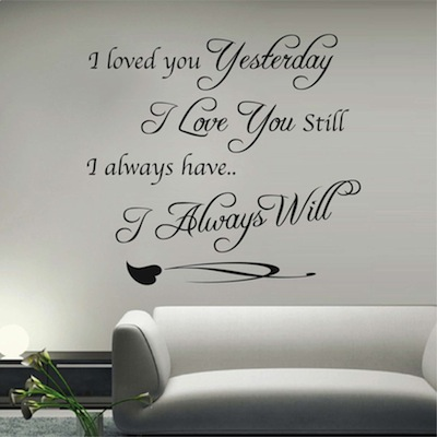 vinyl wall quotes 46c | tredywalldesigns