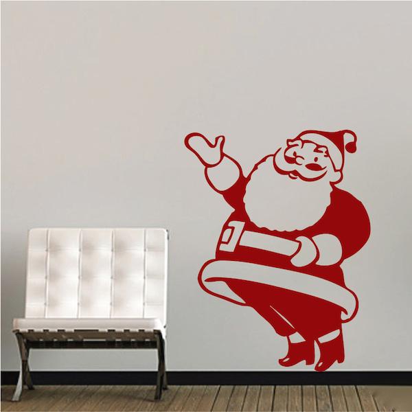 Santa Claus Wall Decal Trendy Wall Designs