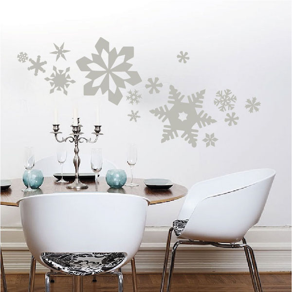 Snowflake Wall Decals Trendy Wall Designs