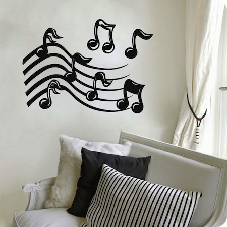 Music Dance Wall Decal Trendywalldesigns