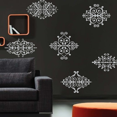 Rustic Ornament Wall Decals Trendy Wall Designs