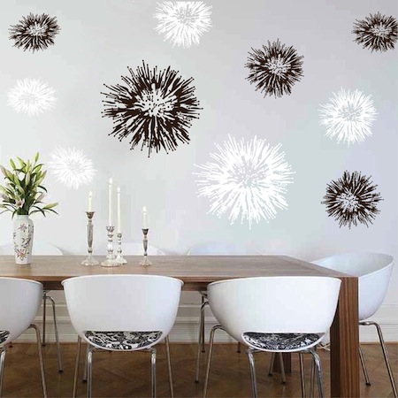 Spiky Wall Decals Trendy Wall Designs