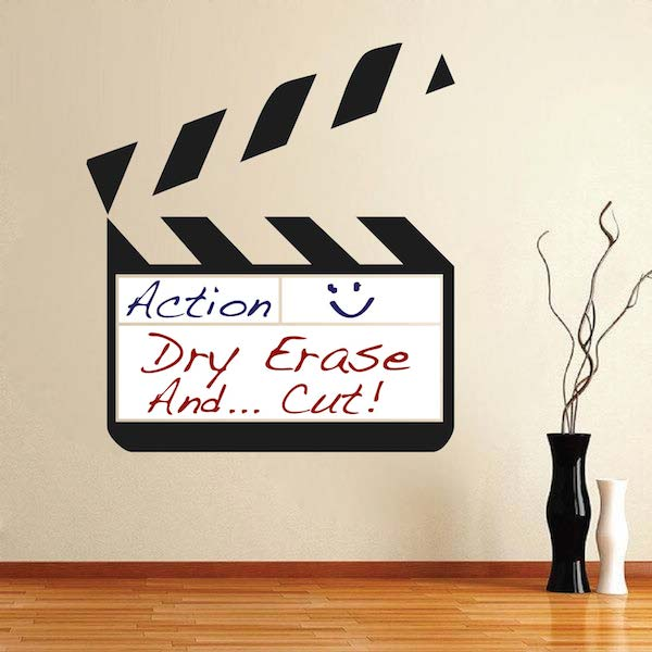Dry Erase Clapboard Wall Decal Trendy Wall Designs