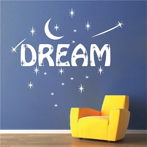 Dream Bedroom Wall Decal Decor