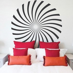 Hypnotic Wall Decal